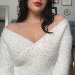 Fashion Nova Cropped Sweater